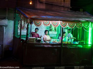 And then there are the Egg-Roll stalls. Egg Roll is a must have if you are in Kolkata