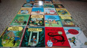 My Birthday Gift...the complete set of Tintin