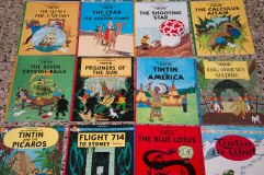 The Adventures of Tintin...across the world