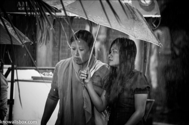 Rain in Imphal