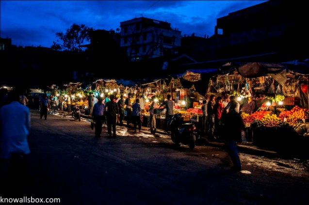 Evening Market- Imphal