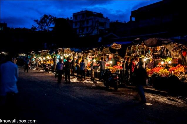 Evening Market- Imphal