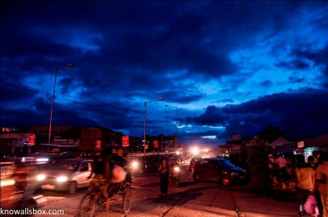 Evening Skyline- Imphal