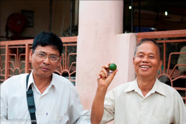 These gentlemen stopped me on the street and spoke to me for some time!