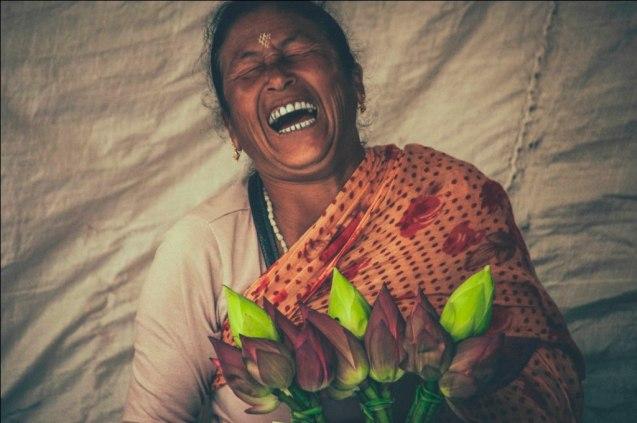 The Guffawing Lady, Imphal Bazaar