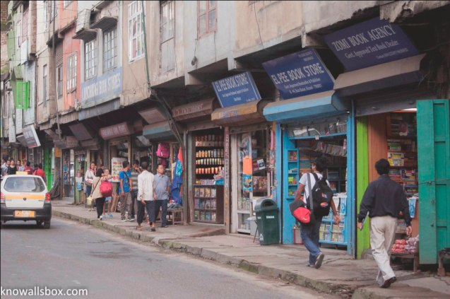 Walking around Aizawl