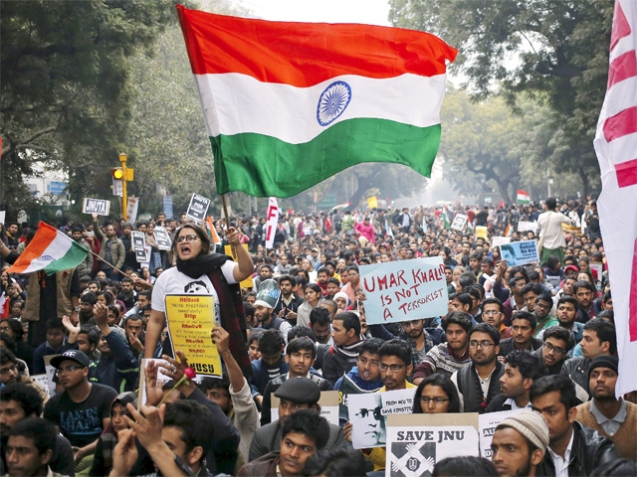 Photo source: http://blogs.economictimes.indiatimes.com/et-commentary/government-should-have-allowed-jnu-to-resolve-the-issue/